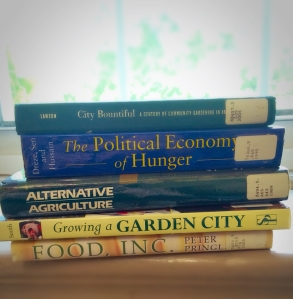 A few of the books I have started reading!